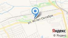 Прокопьевский завод строительных материалов на карте