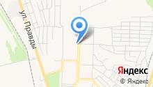 Продуктовый магазин на Союзной на карте