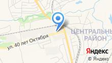 Прокопьевский хлебокомбинат на карте