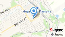 Универсальн магазин на ул. Фадеева на карте