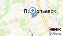 Отдел по работе с инвалидами и ветеранами Администрации г. Прокопьевска на карте
