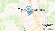 Прокопьевский городской Совет народных депутатов на карте