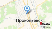 Отдел государственной статистики в г. Прокопьевске на карте