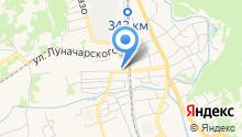 Российский на карте