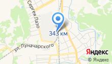 Кузбасс на карте