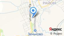 Зенковский на карте