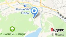 Зенковский парк культуры и отдыха на карте