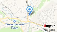 Автокемпинг на карте