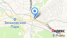 АЗС Бенд на карте