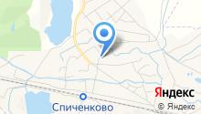 Поликлиническое отделение №3 на карте