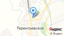 Православный приход храма Богоявления с. Терентьевское на карте