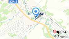 Продовольственный магазин на Кузнецкой на карте