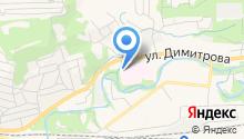 Пожарно-спасательная часть №8, 11 отряд ФПС по Кемеровской области на карте
