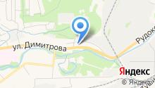 Ниссан на карте