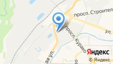 Защита населения и территории Новокузнецкого района на карте