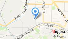 Автоцентр на ул. Куйбышева на карте