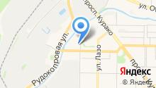 All hotels на карте