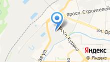 Автотранспортное предприятие Новокузнецкого Муниципального района на карте