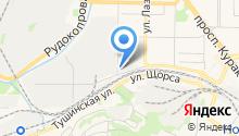 Сибирь-Авто на карте