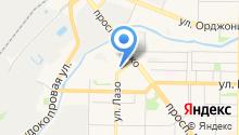 Автосервис на Крытом рынке на карте