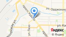 Deltakey на карте