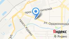 Оперативно-диспетчерская служба на карте