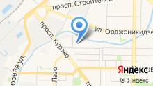 11 отряд ФПС по Кемеровской области, ФГКУ на карте