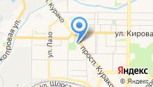 Управление по защите населения и территории г. Новокузнецка по Куйбышевскому району на карте
