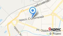 Противопожарный аварийно-спасательный центр Кузбасса на карте