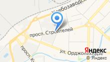 Юнител-НК на карте