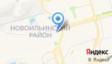 Управление по защите населения и территории г. Новокузнецка по Новоильинскому району на карте