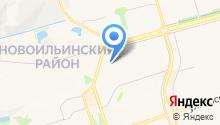 RegionBus на карте