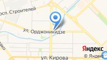 Управление по защите населения и территории г. Новокузнецка по Центральному району на карте