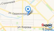 Управление по защите населения и территории г. Новокузнецка на карте