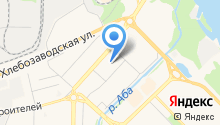 Межрегиональная Сибирская организация шинкиокушинкай каратэ-до, НП на карте
