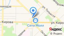 Donuts, сеть магазинов пончиков, донатов на карте