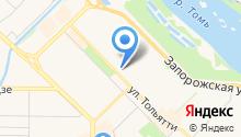 Автомойка на Ермакова на карте