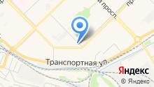 Автосервис на ул. Кузнецова на карте