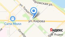 Единая дежурная диспетчерская служба ГО и ЧС г. Новокузнецка на карте