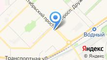 Аисин на карте
