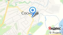 Кузбасс-Лада на карте