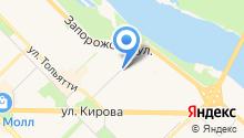 Автомагазин на Франкфурта на карте