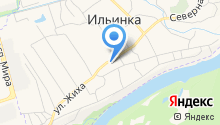 Автомагазин на ул. Жиха на карте