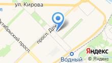 OSH на карте