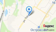 ST на карте