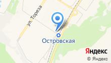 Автомойка на ул. 40 лет ВЛКСМ на карте