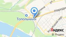 Эвакуатор-НК на карте