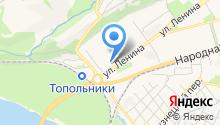 Банкомат, Кузнецкбизнесбанк на карте