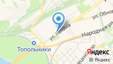Частный извоз на карте