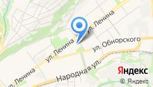Управление по защите населения и территории г. Новокузнецка по Кузнецкому району на карте